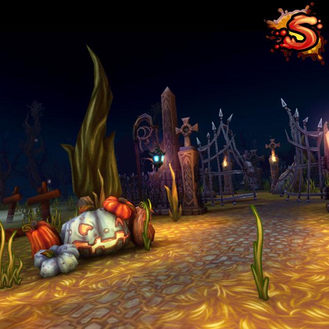 spooky cemetery bundle cover art unity 3d sauce