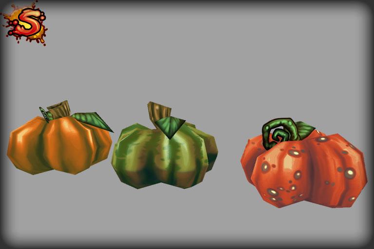 spooky cemetery bundle pumpkins unity 3d sauce