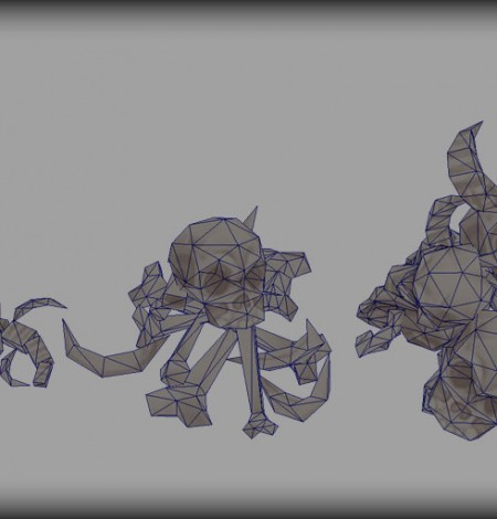 spooky cemetery bundle bone props wireframe unity 3d sauce