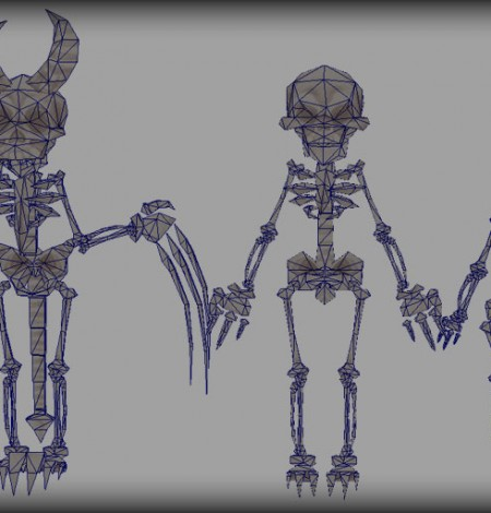 spooky cemetery bundle skeletons wireframe unity 3d sauce