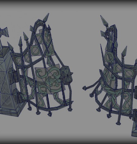 spooky cemetery bundle gate wireframe unity 3d sauce