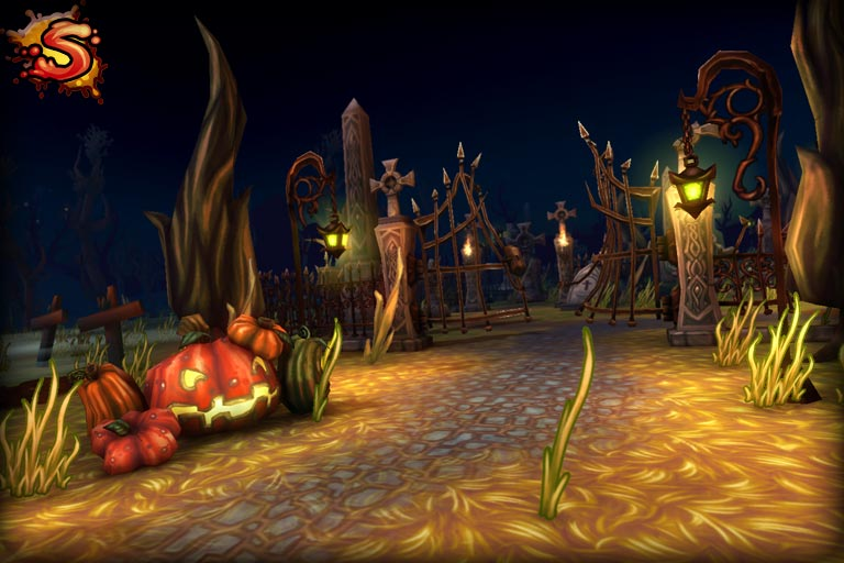spooky cemetery bundle beauty shot unity 3d sauce