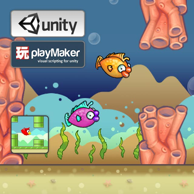 playmaker flappy bird cover art unity 3d sauce