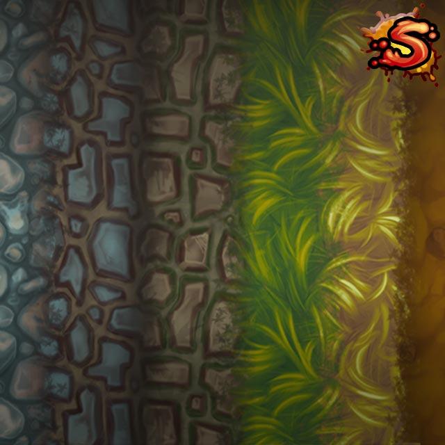 terrain textures cover art unity 3d sauce