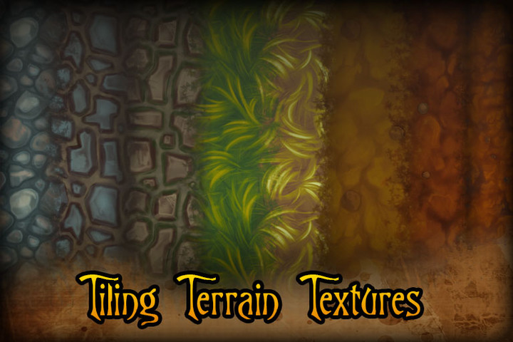 Hand Painted Terrain Textures Vol1 Unity Forum