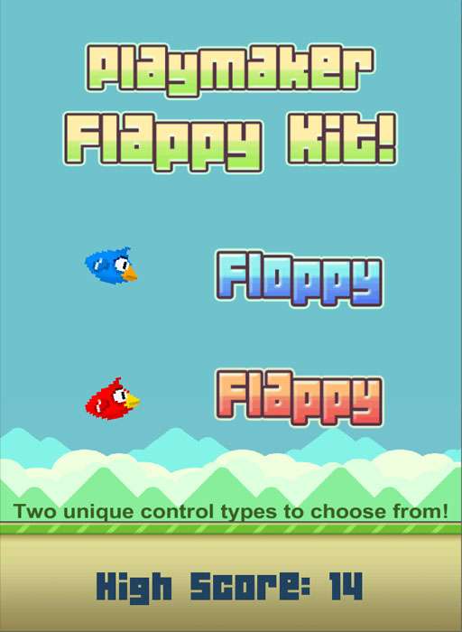playmaker flappy bird kit