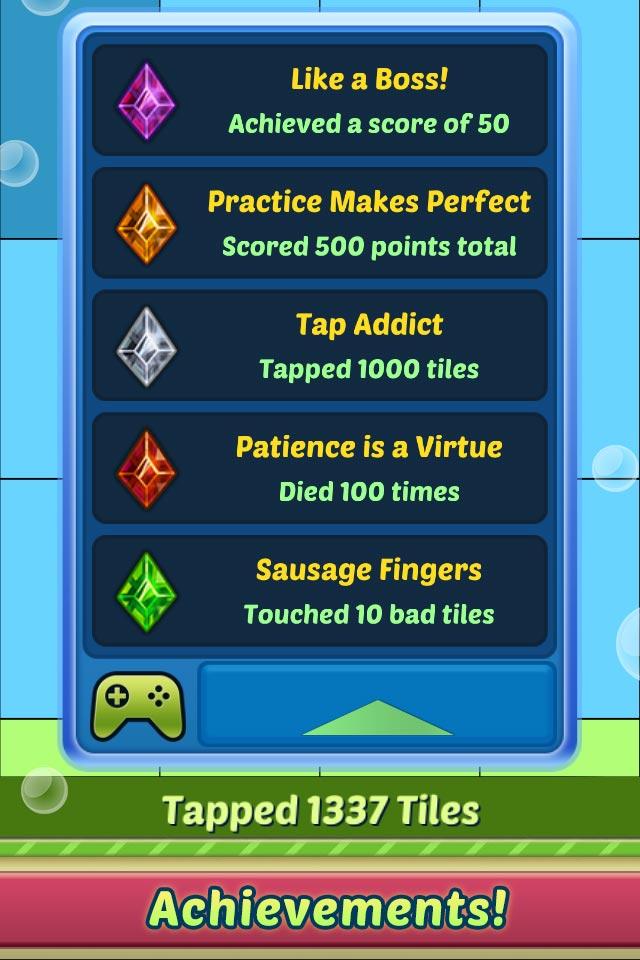 floppy tiles achievements 3d sauce