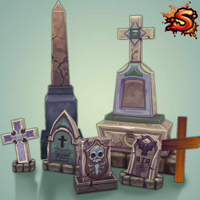 gravestones & obelisks cover art