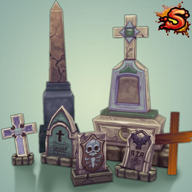 gravestones & obelisks cover art
