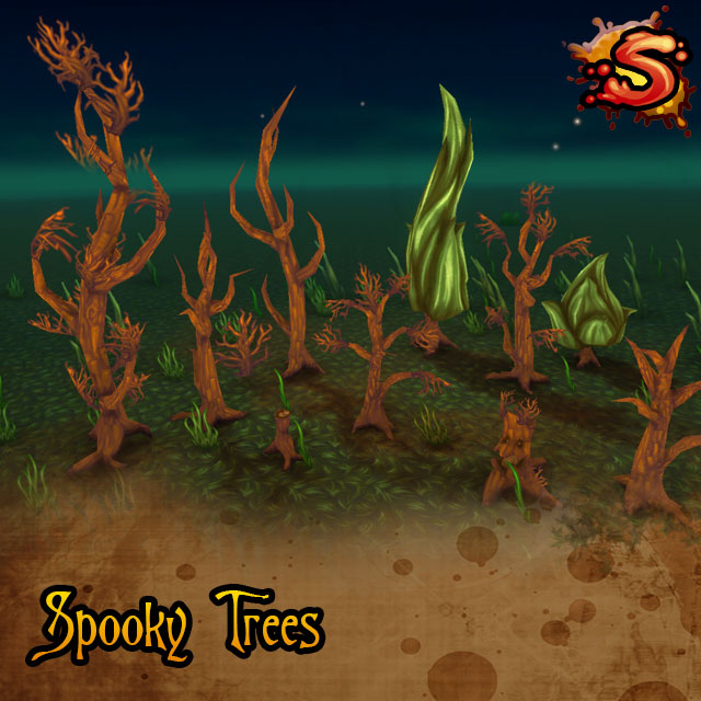 haunted trees cover art unity 3d sauce