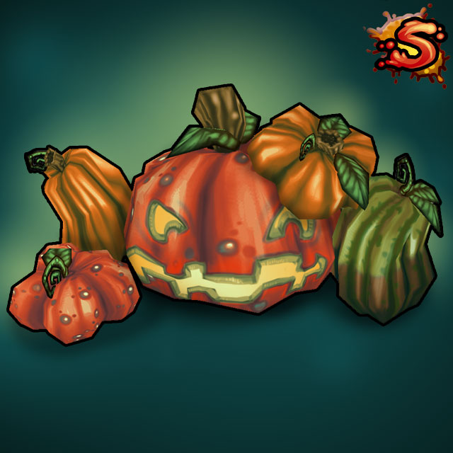 halloween pumpkins & jack-o'-lanterns cover art unity 3d sauce