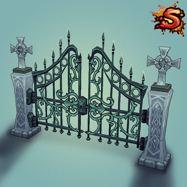steel gates and fences cover art unity 3d sauce