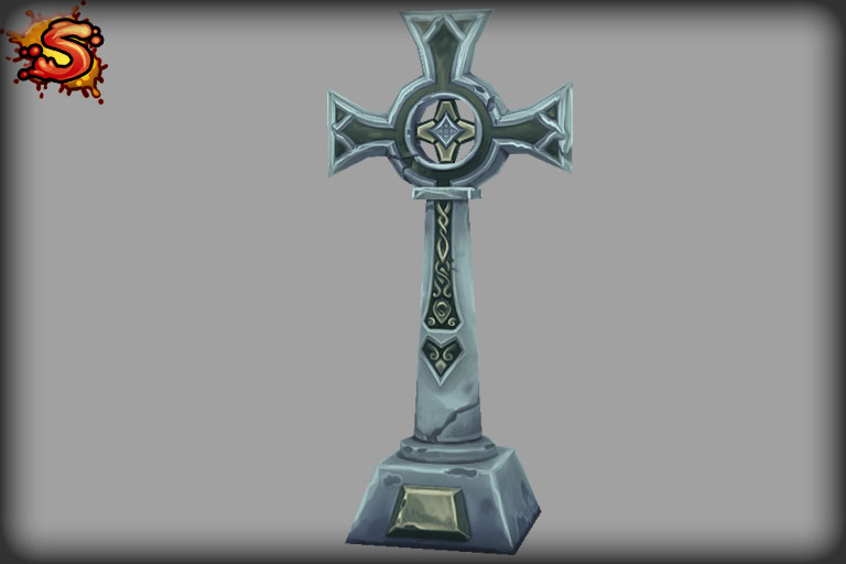 tombstone cross unity 3d sauce