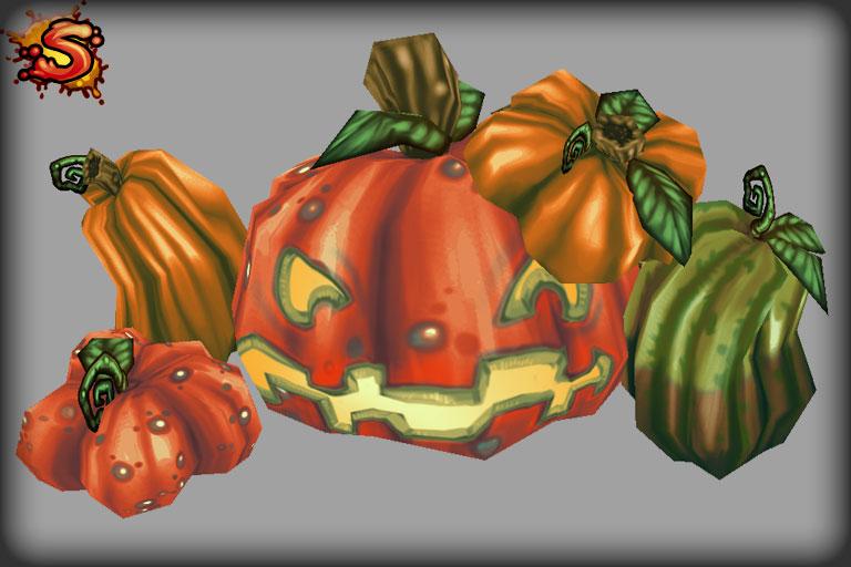 halloween pumpkins & jack-o'-lanterns unity 3d sauce