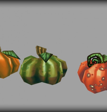 halloween pumpkins unity 3d sauce