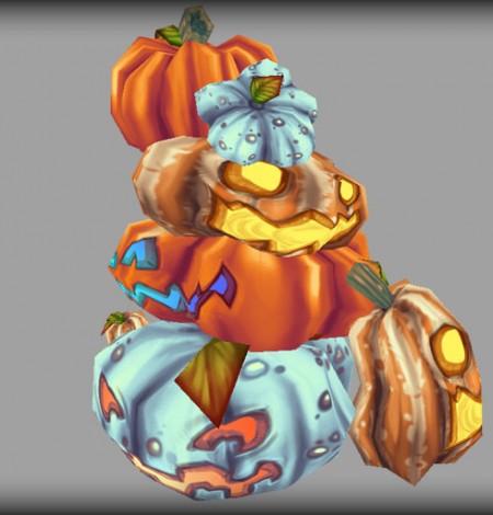 halloween pumpkins & jack-o'-lanterns stack and unity 3d sauce