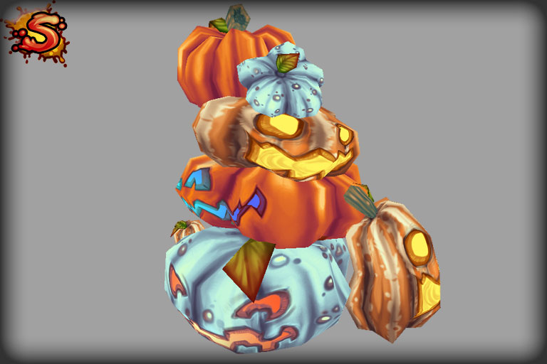 halloween pumpkins & jack-o'-lanterns stack and unity 3d sauce
