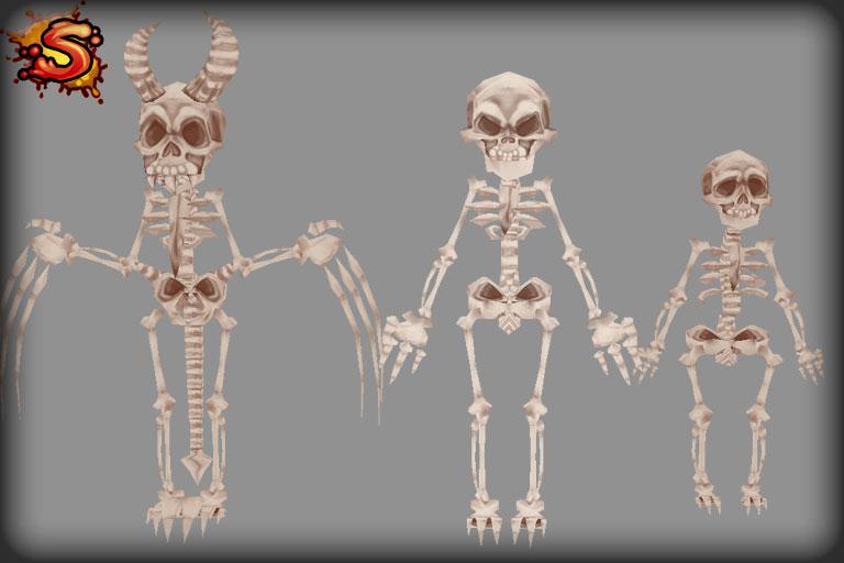 mecanim skeletons unity 3d sauce
