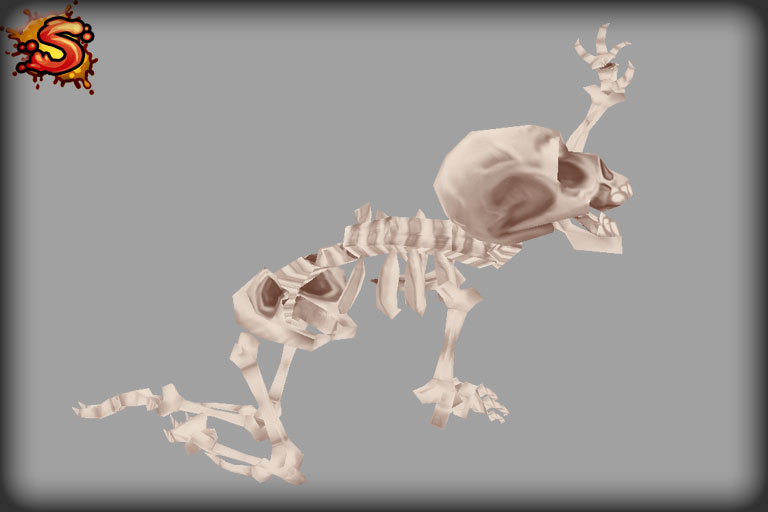 skeleton decoration unity 3d sauce