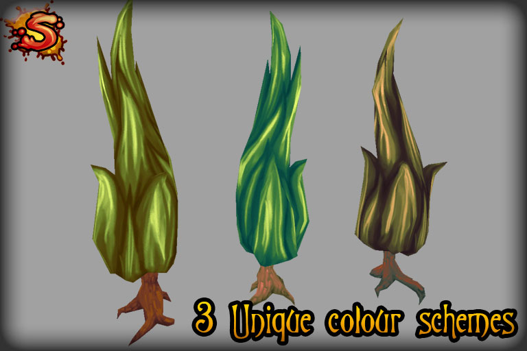 tree colors unity 3d sauce