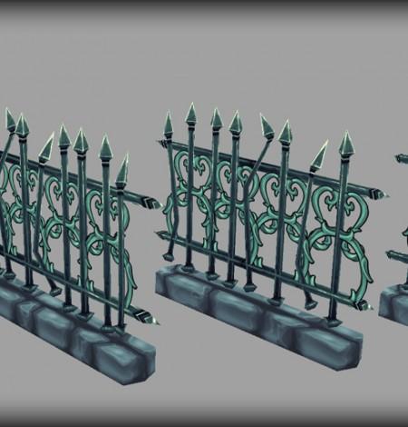 steel fences unity 3d sauce